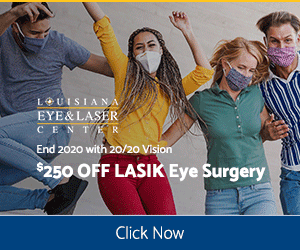 La Eye Lasik offers Portrait 10.22.20