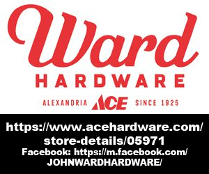 Ward Ace Hardware Portrait Ad 8.25.21
